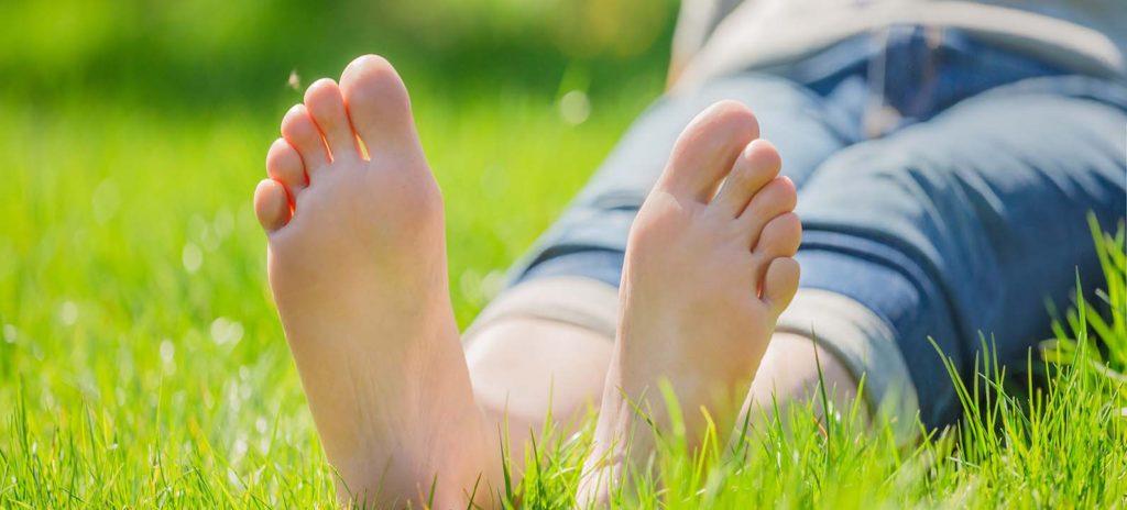 sudoración pies